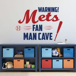 NY Mets Wall Decor - Baseball Decorations