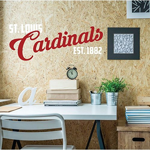 St Louis Cardinals Est 1882 Wall Decor Baseball Decorations
