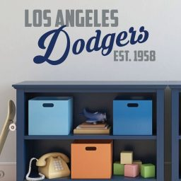 LA Dodgers EST. 1958 Wall Decor - Baseball Decorations