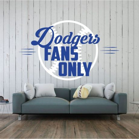 LA Dodgers Wall Decor - Baseball Decorations - Dodgers Fans Only