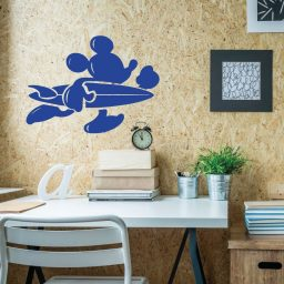 Mickey Mouse Wall Decal Surfer