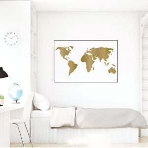 World Map Wall Art . Classroom Decorations
