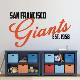 Sf Giants Wall Art Logo - San Francisco Baseball Decorations