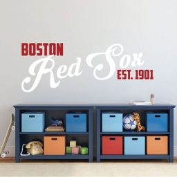 Red Sox Wall Decal - Boston Baseball Decorations