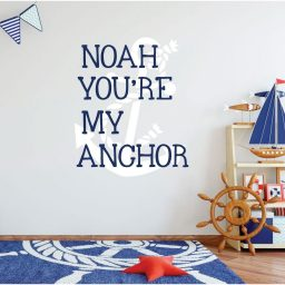 Anchor Wall Decal Vinyl Sticker