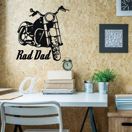 Harley Davidson Wall Decor - Personalized Motorcycle Vinyl Biker