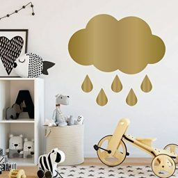 Nursery Wall Decal - Cloud With Rain Drops