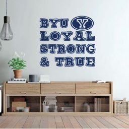BYU Decal - Loyal Strong and True