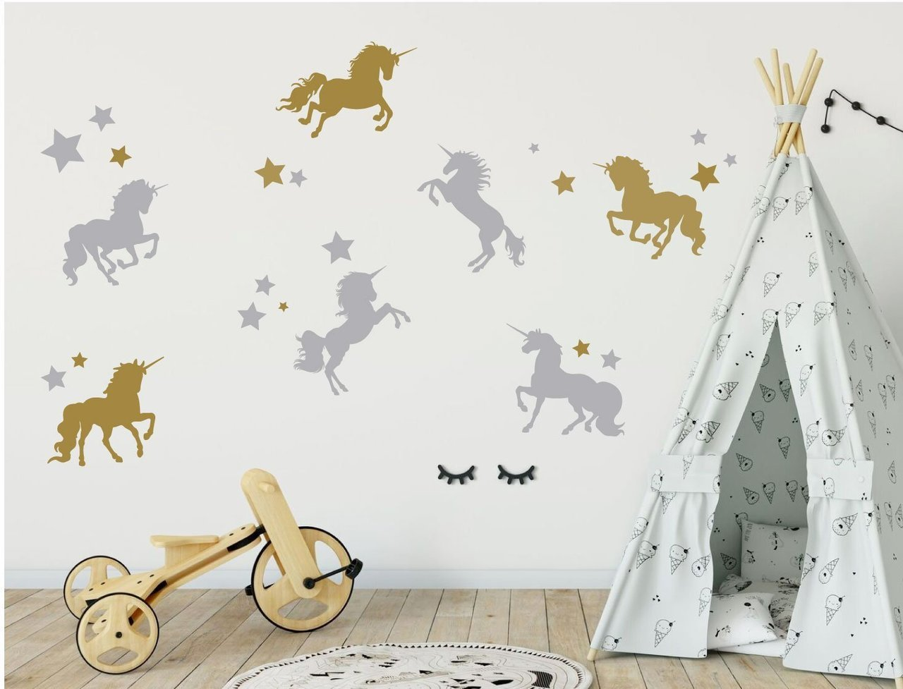 Unicorn Wall Decor - Full Wall Mural