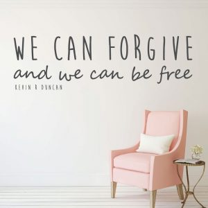 Christian Wall Decor - LDS Quotes - We Can Forgive And We Can Be Free