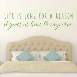 Inspirational Quotes -Life Is Long For A Reason