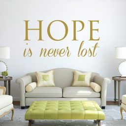 Inspirational Quotes -Hope Is Never Lost