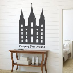 LDS Wall Decal - Salt Lake Temple Wall Art