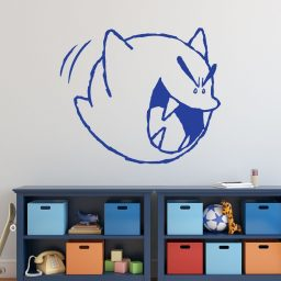 Super Mario Wall Decor - Ghost Boo Vinyl Wall Decal for Boys Room