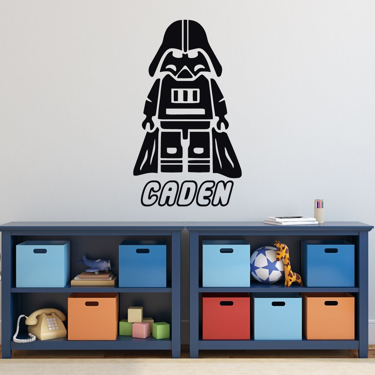 Lego Darth Vader Sticker Vinyl Wall Decal for Boys Room