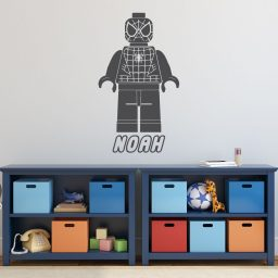 Lego Spiderman - Avengers - Superhero Personalized Wall