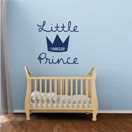 Nursery Wall Decal - The Little Prince Personalized Vinyl Wall Decor