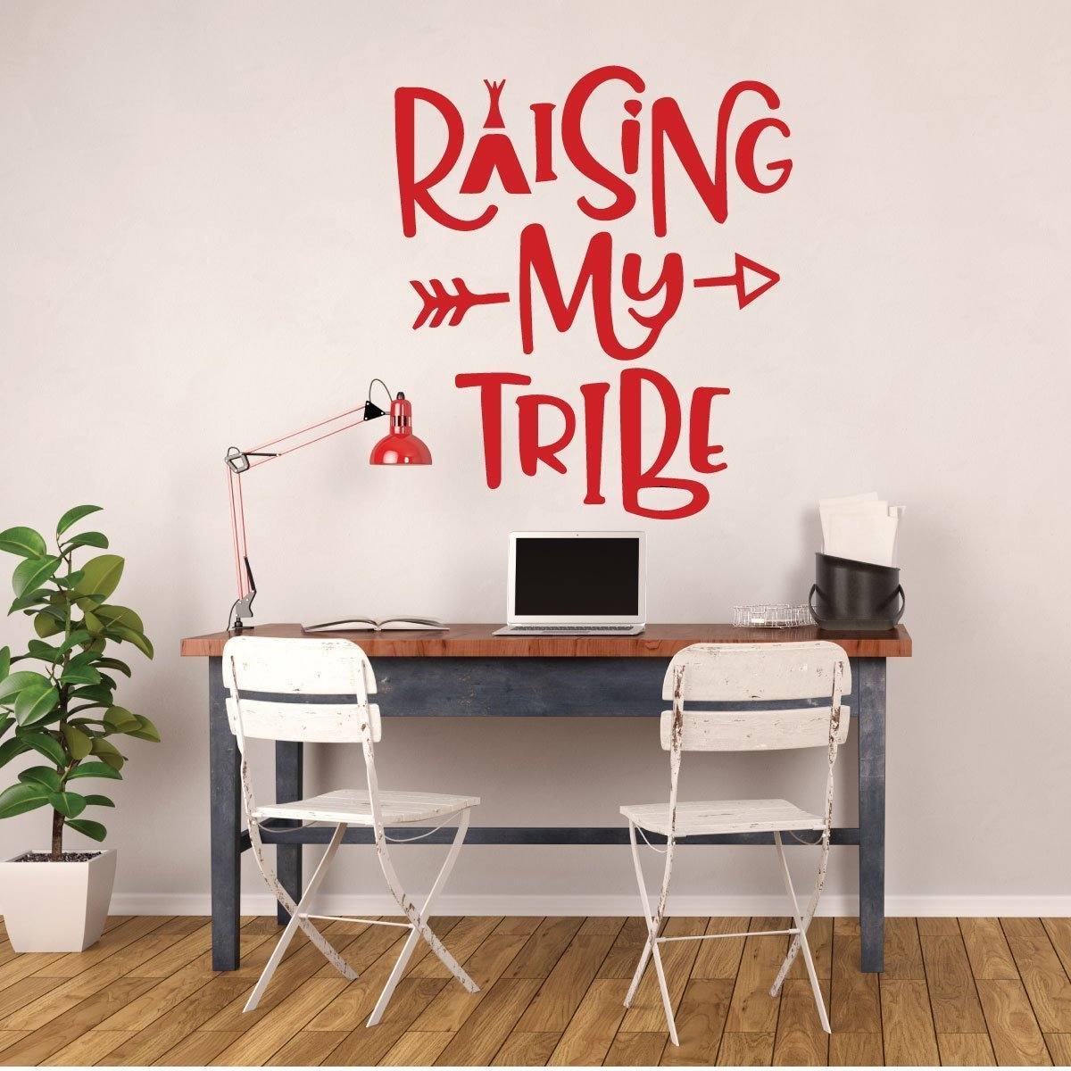 Family Wall Decor - Raising My Tribe
