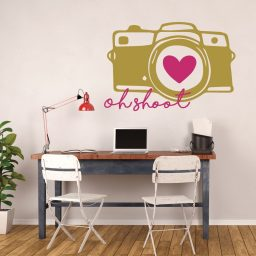 Camera Wall Decor - Oh Shoot - Photography Wall Decor