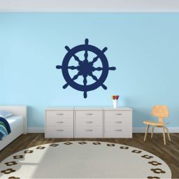 Ship Wheel Wall Decal