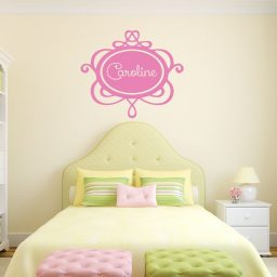 Girl's Room Wall Decal - Personalized