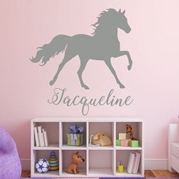 Horse Wall Decor - Personalized Vinyl Wall Decal