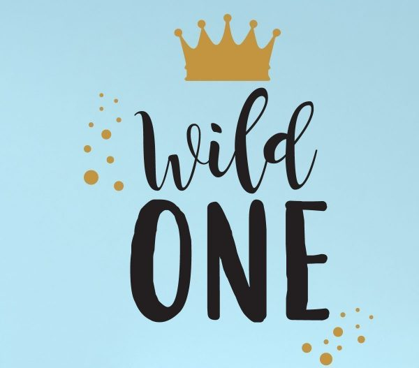 Wall Decal for Kids - Wild One - Where The Wild Things Are Theme ...