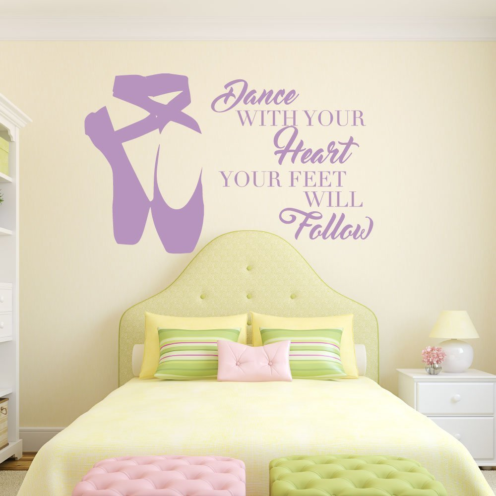 Personalized Ballerina Wall Decor Dance With Your Heart