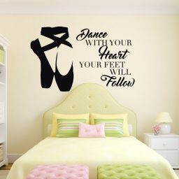 Ballerina Vinyl Wall Decals