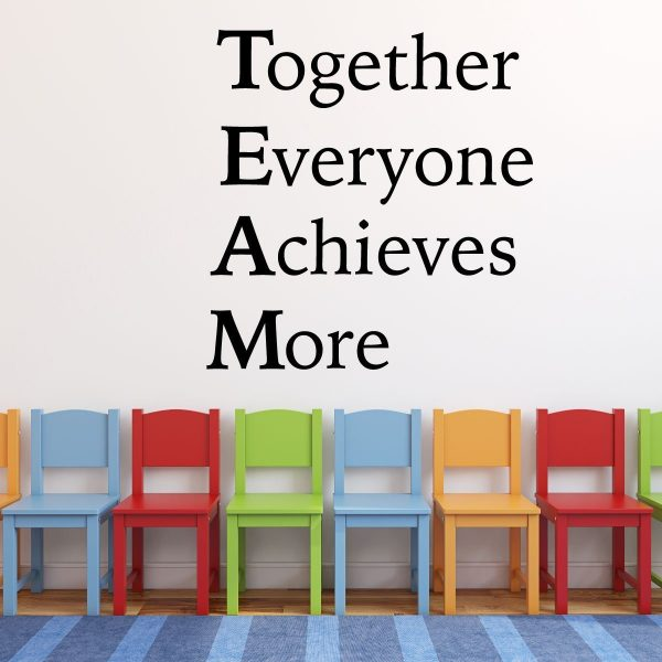 Quot Team Quot Inspiring Quote Together Everyone Achieves More