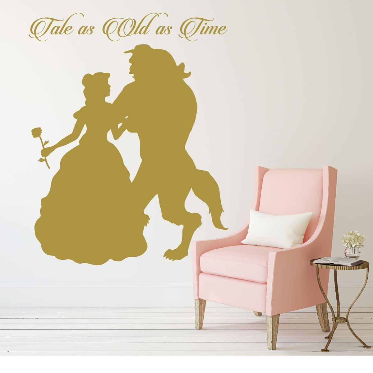 Disney Princess Belle Wall Decal - Beauty and the Beast Theme Decor ...