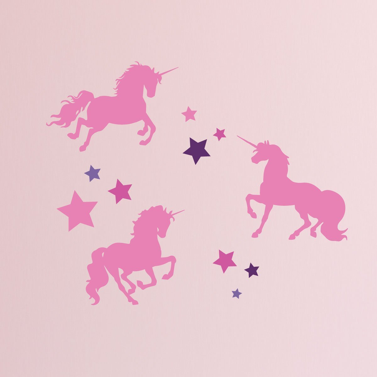 Wall Quote Stickers Bedroom Unicorn Stickers For Kids Room Never Stop Believing