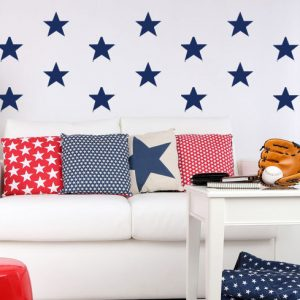 Star Shape Vinyl Decorative Decals