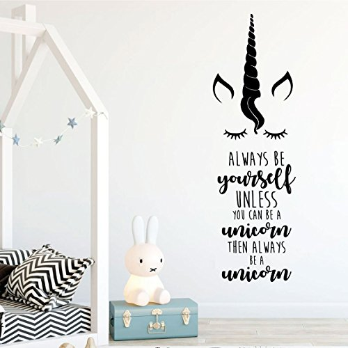 Unicorn Face With Quote Quot Always Be Yourself Unless