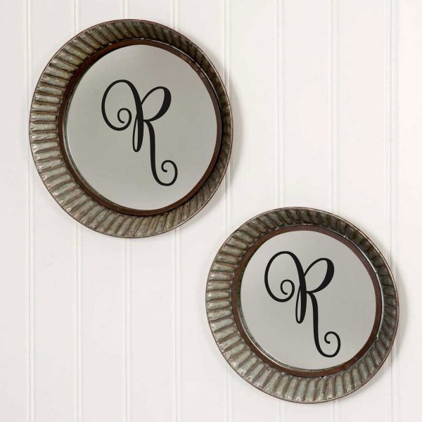 Farmhouse Decor Family Name Wedding Letters and Polka Dots Vinyl Wall Decals