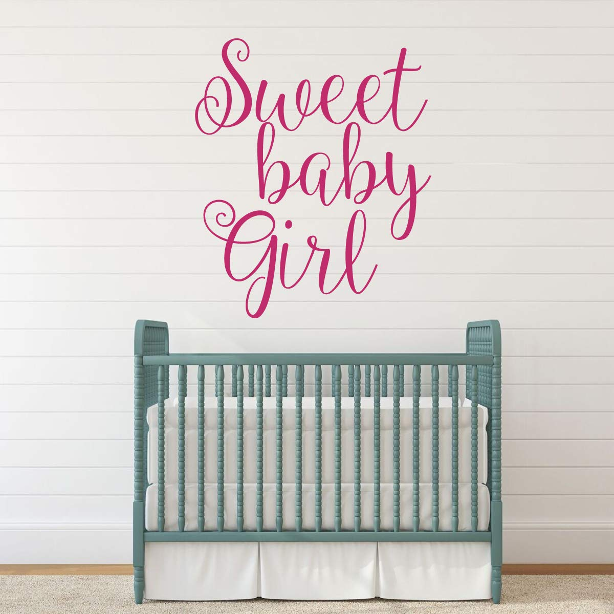 Baby Girl Wall Decal Vinyl Decor Wall Decal