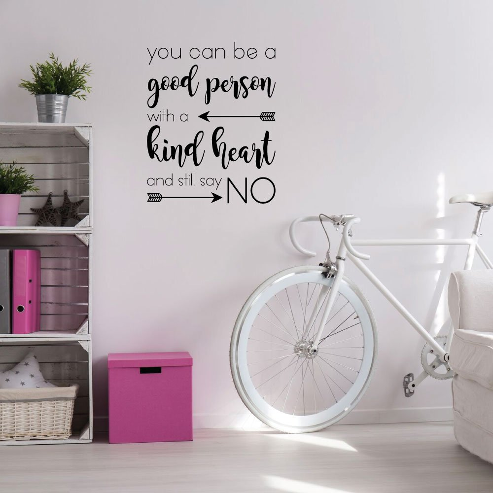 Be a Good Person Quote Wall Decal for Girls Bedroom Vinyl Decor