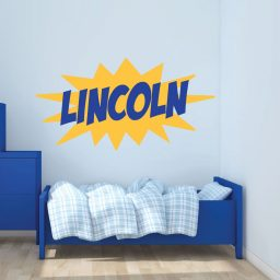 Boy's Bedroom Vinyl Decals