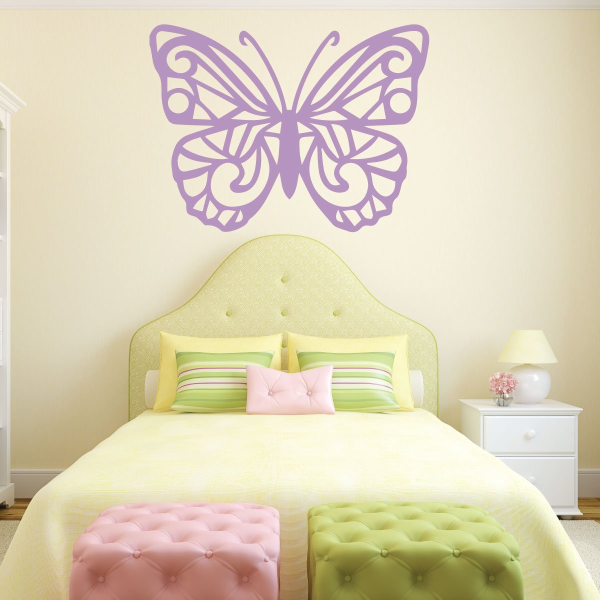 Butterfly Wall Decor Stain Vinyl Decor Wall Decal