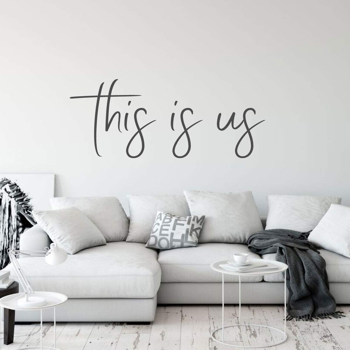 Family This is Us Quote Greatest Showman Vinyl Decor Wall ...