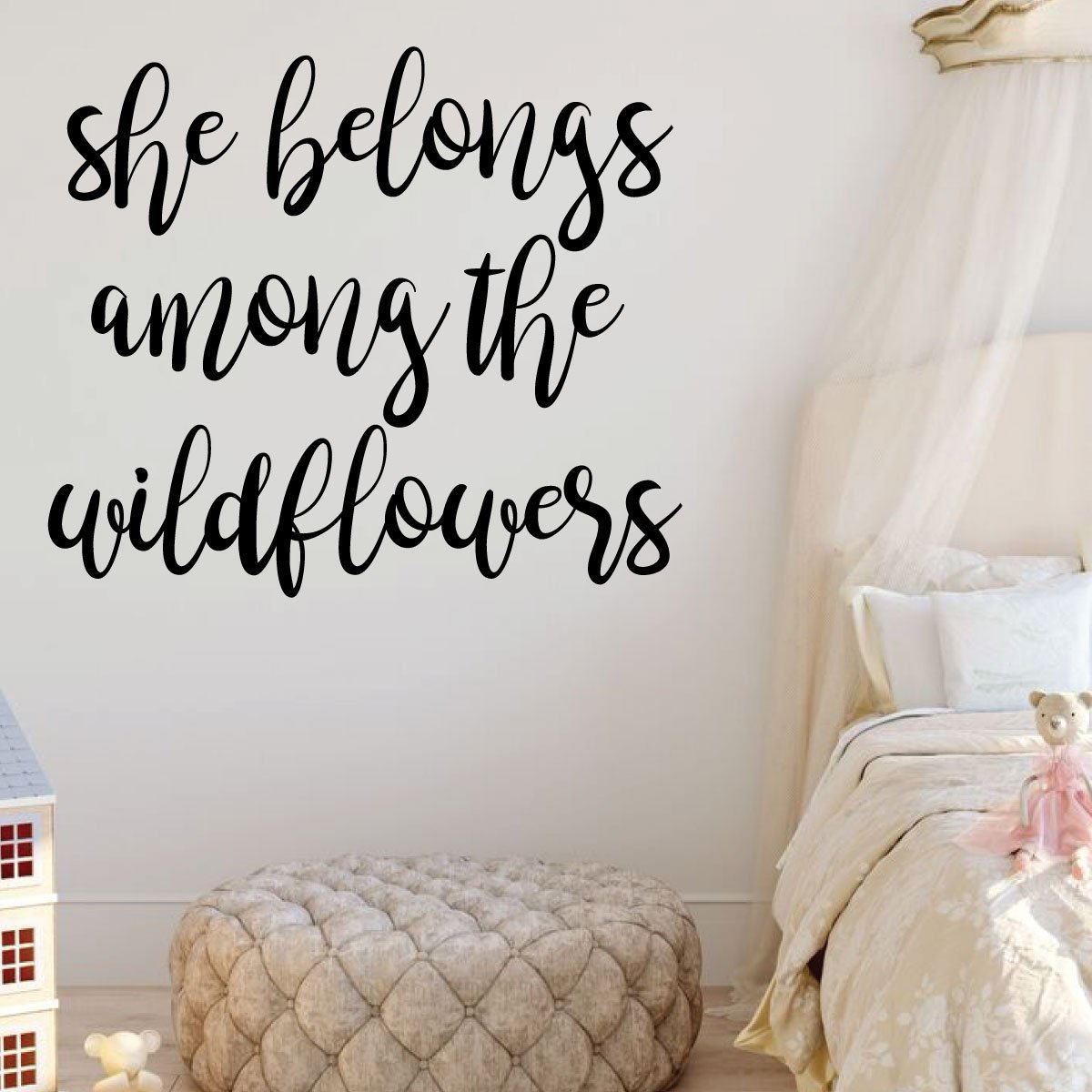 Girl Wall Decals She Vinyl Decor Wall Decal