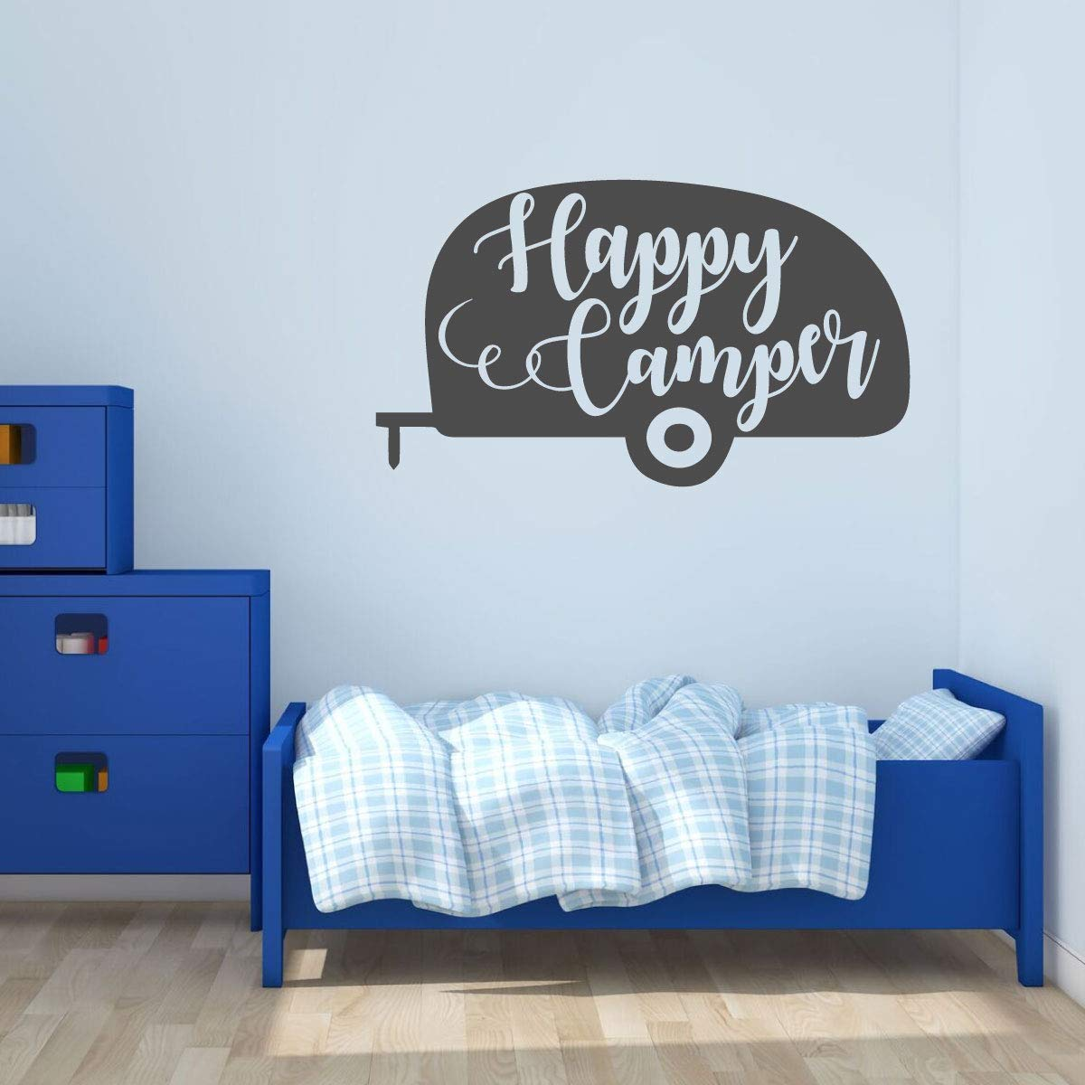 ONE OLD CAMPER Vinyl Saying Wall Decor Lettering Decal