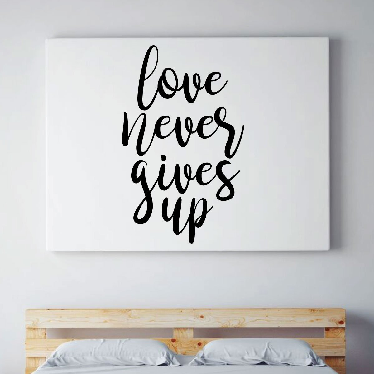Quote Vinyl Decor Wall Decal