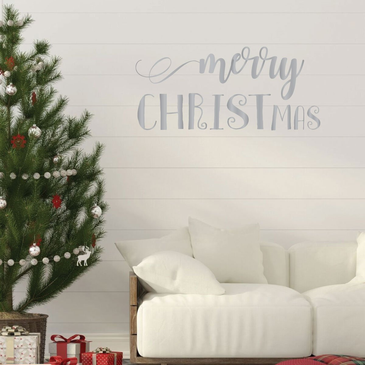 Religious Merry Christmas Images.Merry Christmas Jesus Religious Christian Vinyl Decor Wall Decal