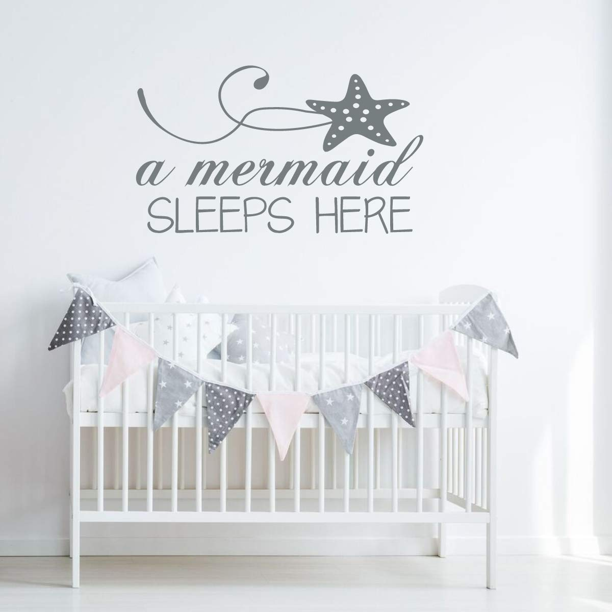 Nursery Wall Decal for Baby Vinyl Decor Wall Decal