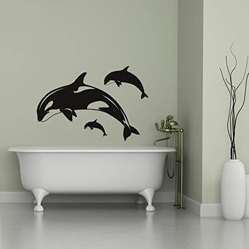 Orca Killer Whales Vinyl Wall Vinyl Decor Wall Decal Customvinyldecor Com