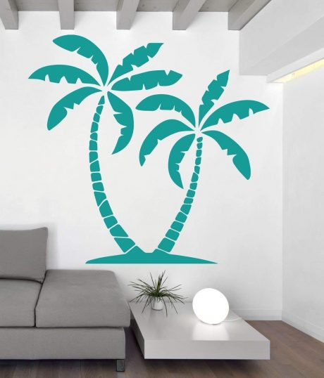 Palm Trees Wall Decals Vinyl Decor Decal