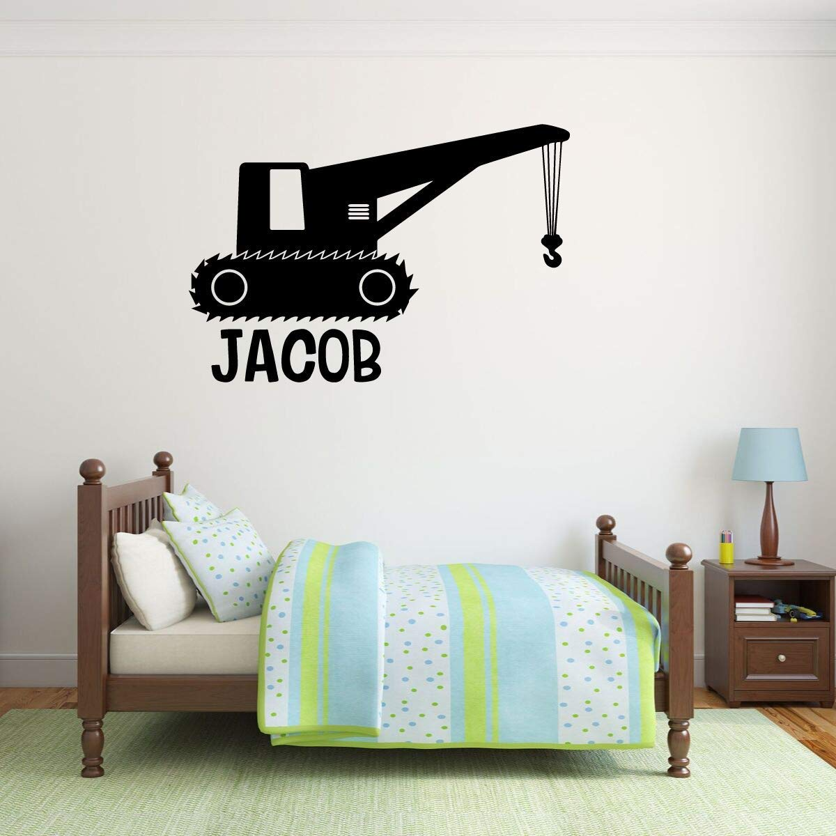 Personalized Boy Name Bedroom Decor Vinyl Decor Wall Decal ...