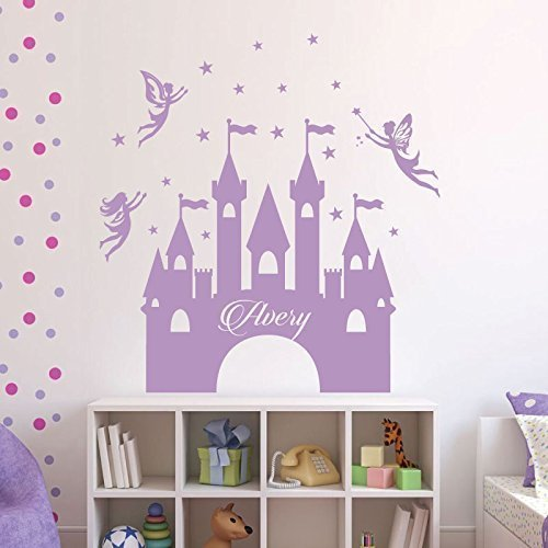 Princess Castle Wall Decals Vinyl Decor Wall Decal