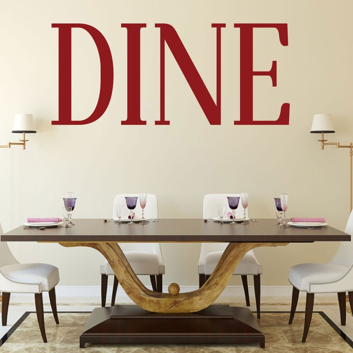 . Restaurant Wall Decor Vinyl Design Vinyl Decor Wall Decal